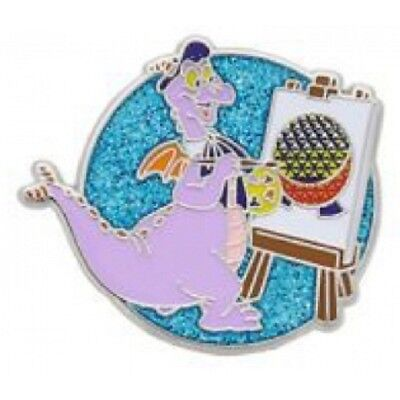 Disney Figment Painting Spaceship Earth Brush with Masters Scavenger Hunt pin