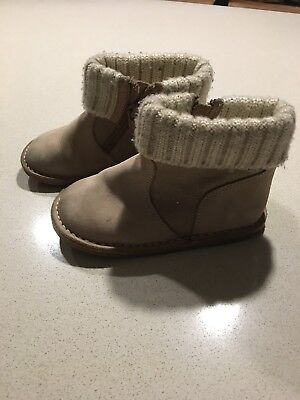 Country Road Suede Toddler Boots Size 26