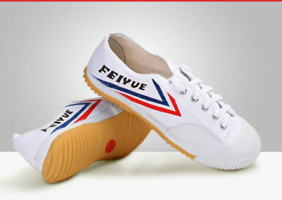 Dafu Feiyue Wushu Training Shoes White Martial Arts Kung Fu Slippers Trainers