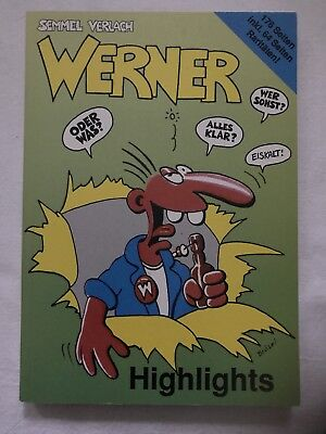 Comic Buch , WERNER  , HIGHLIGHTS , Brösel  Comics