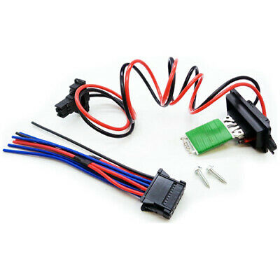 Heater Blower Resistor + Wiring Loom For Renault Scenic + Grand (2003-2009)