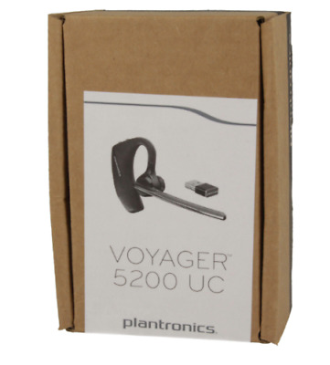 72ed08ebe4c Plantronics Voyager 5200-UC (206110-01) Advanced NC Bluetooth Headsets  System