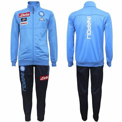 Kappa Sport Tracking suit ANDERIN 2 NAPOLI Man Soccer sport CNA Tracksuits