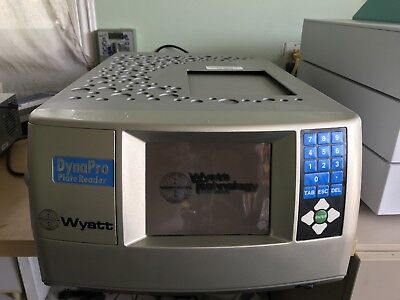 Wyatt Technologies DYNAPRO PLATE READER  EXCELLENT CONDITION
