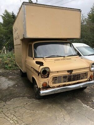Ford Transit Luton mark 1 1975 low miles barn find classic van IDEAL CONVERSION