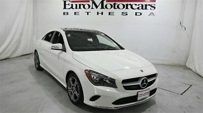 Mercedes-Benz CLA CLA 250 4MATIC Coupe mercedes benz cla250 cla 4matic awd white 17 18 used navigation 250 coupe black