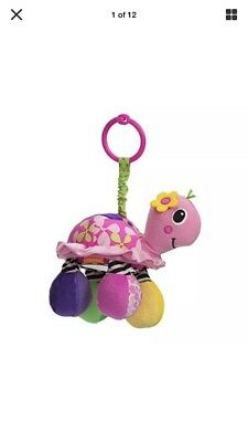 kid baby infant newborn turtle rattle toy car seat stroller crib attachment