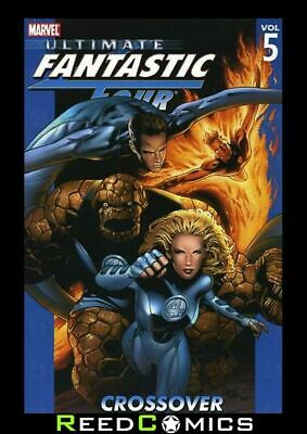 ULTIMATE FANTASTIC FOUR VOLUME 5 CROSSOVER GRAPHIC NOVEL Collects #21-26
