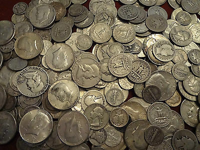 $1.00 Face Value   Not Junk This is Survival Silver  *FREE SHIPPING*.