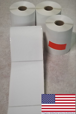 12 Rolls 4x6 Direct Thermal Shipping Labels - 250 per roll - 3000 labels