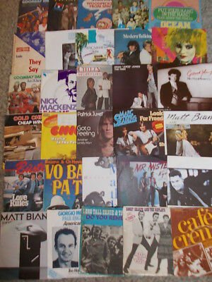Vinyl Sammlung- 60 Singles Pop & Rock international, Teil 2
