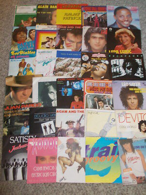 Vinyl Sammlung- 60 Singles Pop & Rock international, Teil 3
