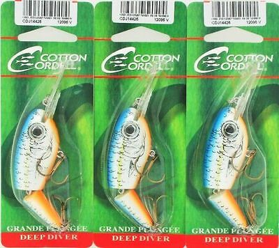 Cotton Cordell Grappler Shad Fancy Shad