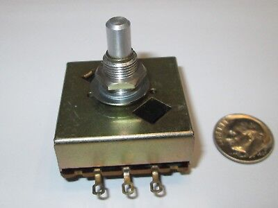 Noble 140Y10K 10K Ohm Audio 22 Step  Potentiometer   Nos  *read*