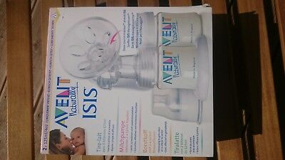 Philips Avent ISIS Naturally Handmilchpumpe Milchpumpe