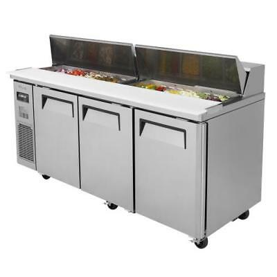 Turbo Air - JST-72-N - 72 in Sandwich Prep Table