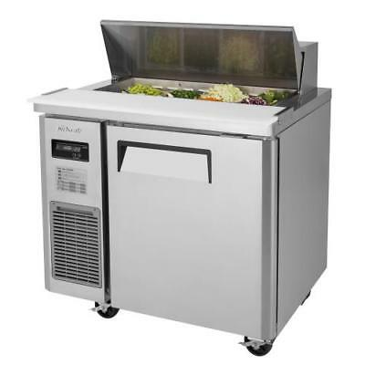 Turbo Air - JST-36-N - 36 in Sandwich Prep Table