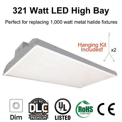 321 Watt LED Linear High Bay Light for Warehouse Lighting Replace 1000 Watt HID