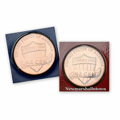 2018 P+D Lincoln Shield Penny Set ~ In Original Mint Wrappers