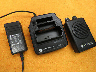 MOTOROLA MINITOR V 5 LOW BAND PAGERS 47.1250 48.9950 MHz 2-FREQ NON-STORED VOICE