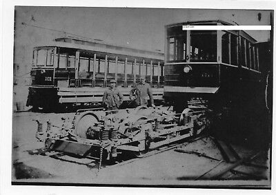 Hagerstown & Frederick RY H&FRY Photo Car #101 & Car #60