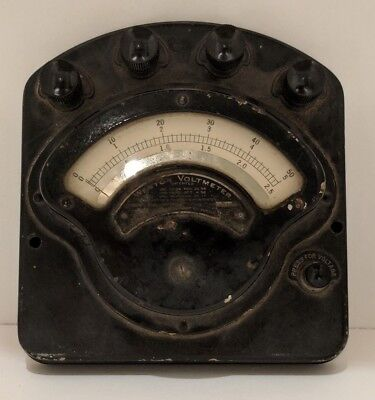 Antique Weston Electric U.S. Army Signal Corps Volt-ammeter Volt Meter - Vintage