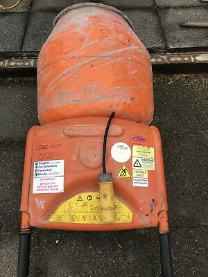 Belle Minimix 150 110v Mini Mix Cement Concrete Mixer New Gearboxes