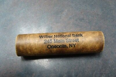 1911 / 1897 Original Shotgun Vintage Roll of Pennies from Wilber National Bank