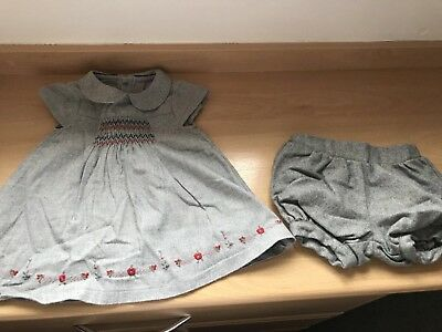 Mothercare Baby Girl Dress And Knickers Set 3months