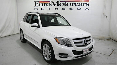 2015 Mercedes-Benz GLK-Class 4MATIC 4dr GLK 350 mercedes benz glk 4matic glk350 awd suv used 13 14 15 certified white navigation