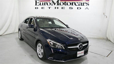Mercedes-Benz CLA CLA 250 4MATIC Coupe mercedes benz cla250 cla 4matic awd blue 17 18 used navigation blind spot coupe