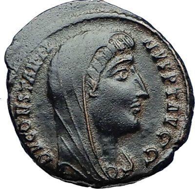Divus Saint CONSTANTINE I the GREAT 347AD Authentic Ancient Roman Coin i69777