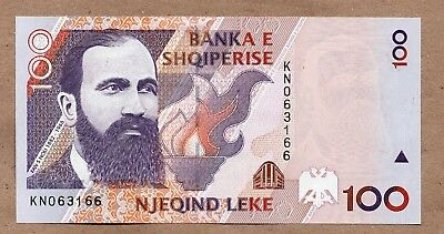 ALBANIA - 100 LEKE - 1996(1997) - P62a - UNCIRCULATED