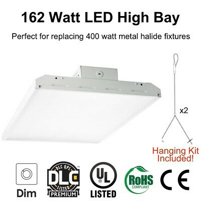 162 Watt LED Linear High Bay Light for Warehouse Lighting Replace 400 Watt HID