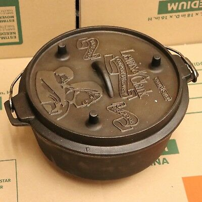 Lewis & Clark Corps of Discovery Camp Chef Cast Iron Dutch Oven Large