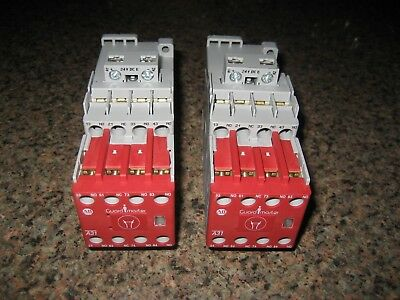 2 Allen-Bradley 700S-CF620EJC Series A Safety Contactor Used Excellent Condition