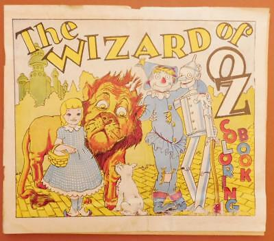 1955 Wizard of OZ Swifts Peanut Butter Coloring Book No Coloring bk6-S3