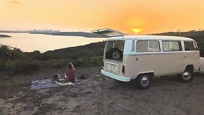 VW Volkswagen Kombi For Sale 1977 with a reconditioned 2 Litre engine.