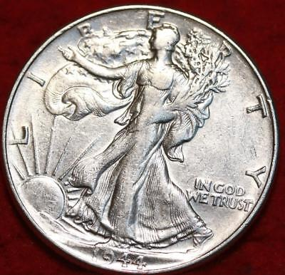1944 Philadelphia Mint Silver Walking Liberty Half