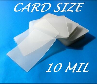 Card Size Laminating Pouches Laminator Sheets 25 pk 2-5/8 x 3-7/8 10 Mil Quality