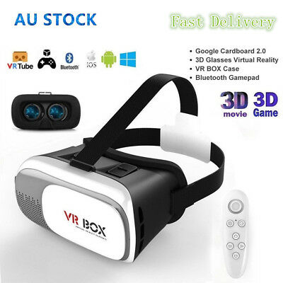 2018 Virtual Reality 3D Glasses VR Headset VR BOX for Samsung Iphone 6 7 8 X