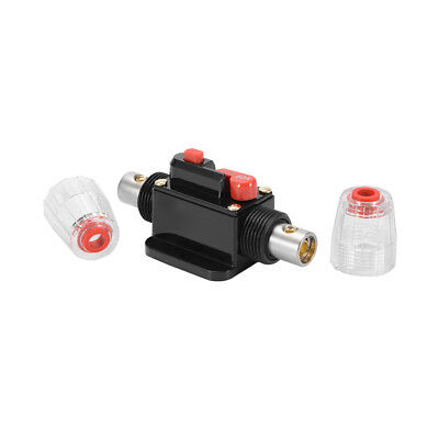 DC12V Car Audio 60A Amp Inline Circuit Breaker Reset Switch Fuse Holder MA1569