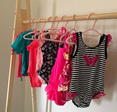 Bulk Baby Bathers - Girl's x9 multi-pack gorgeous bathers (6 mths to 1 yr)