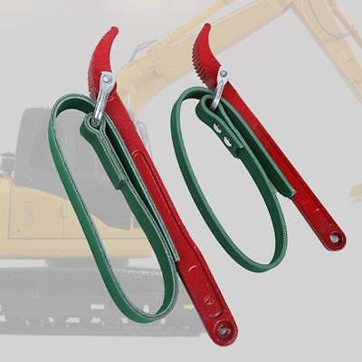 Belt Wrench Oil Filter Strap Spanner Car Engine Repair Tool Remover Removal