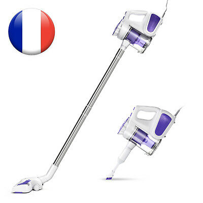 PUPPYOO WP526C Aspirateur à main Portable Hand Held & Vertical 600W 5M 2 en 1 FR