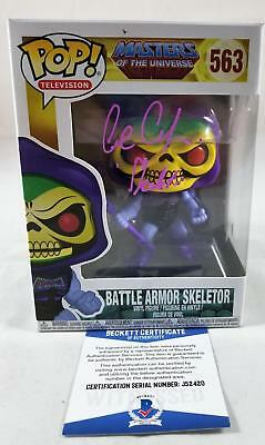Alan Oppenheimer Skeletor Signed Funko Pop Motu Bas Coa 420