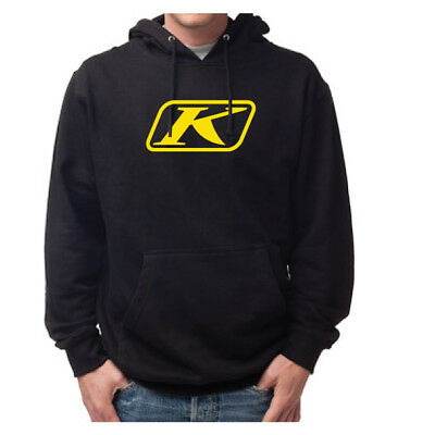 Klim Icon Pullover Hoodie Black Mens All Sizes