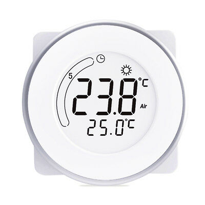 Intelligent LCD Touch Screen Electric Heating Thermostat Programmable Controller