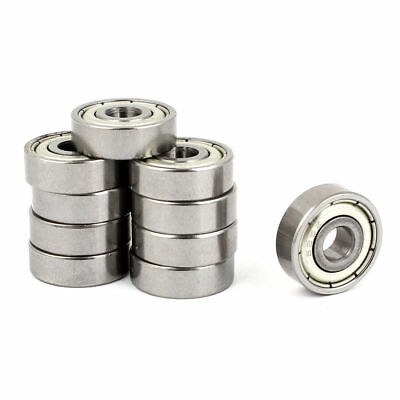 20 Pcs 6252 Carbon Steel One Row Sealed Deep Groove Ball Bearings 16mmx5mmx5mm