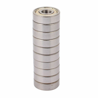 H● Metal Non-noise Low Speeding Deep Groove Bearing Ball 9 x 26 x 8mm 10pcs